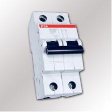 Автоматический выключатель ABB SH202L C63