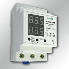 Реле напряжения с ограничителем тока ADECS ADC-0110-50
